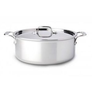 All-Clad Stainless Steel 6 qt. Covered Stock Pot